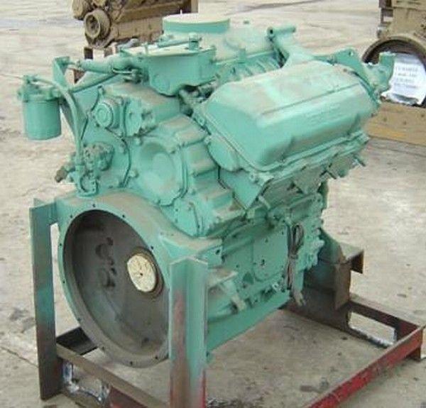 άλλο ειδικό όχημα Detroit 6V53 για κινητήρας