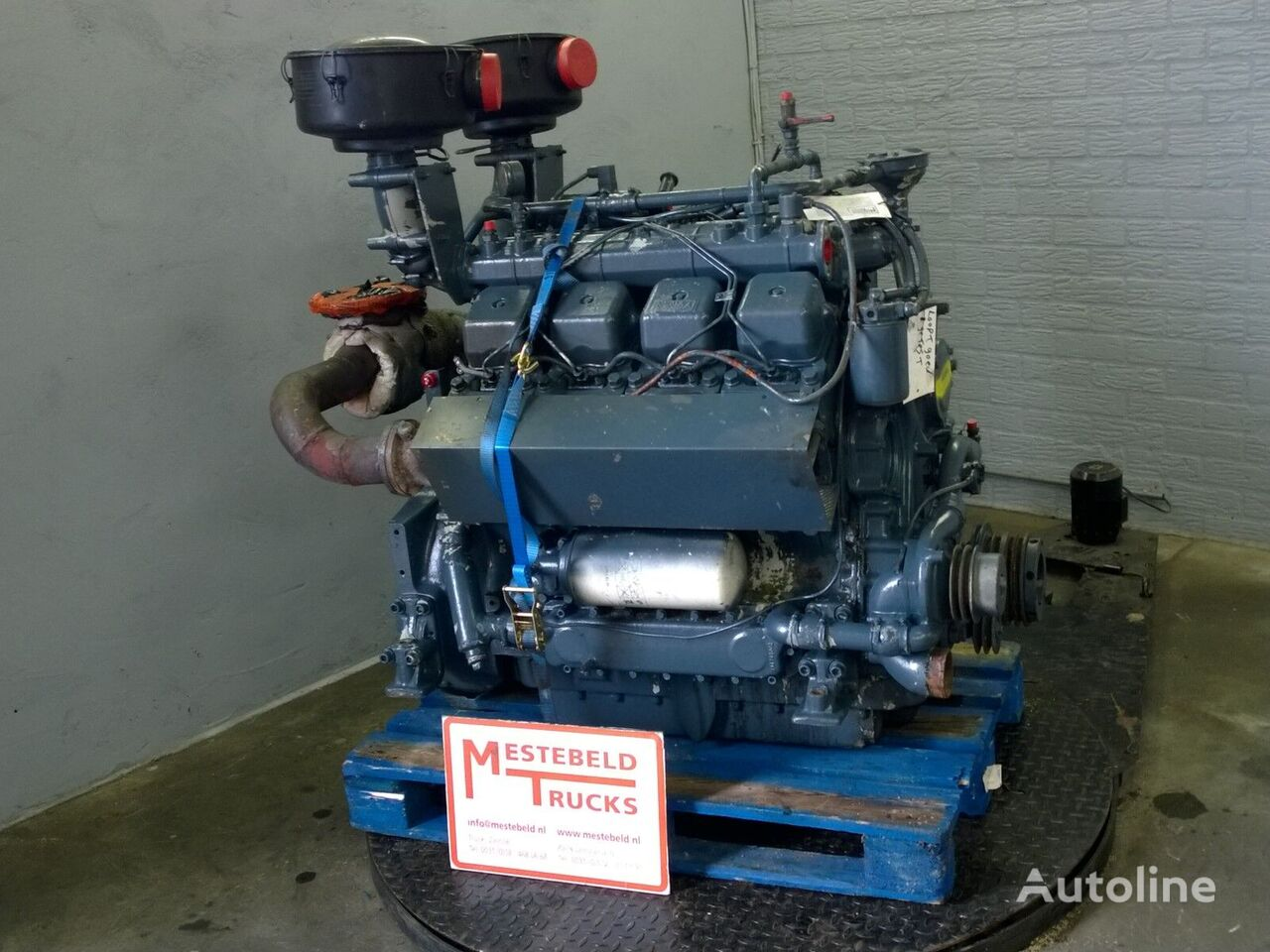 ελκυστήρας Motor MWM D234 V8 για κινητήρας  MWM D234 V8
