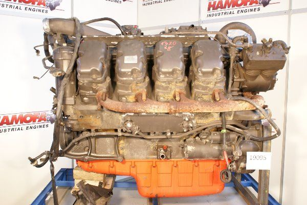 ελκυστήρας SCANIA DC1602 για κινητήρας
