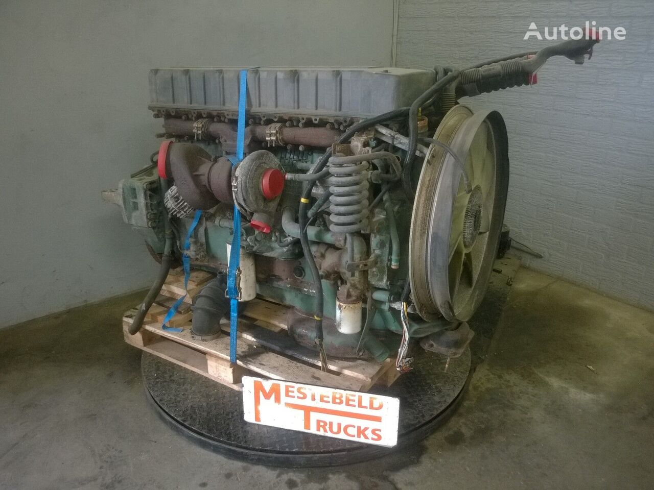 τράκτορας VOLVO Motor D12A 420 EC 93 για κινητήρας VOLVO D12A 420 EC 93