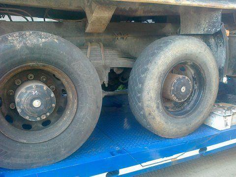 φορτηγό MAN 26-403 για κινητήριος άξονας MAN 6x4 8x4 Niemcy