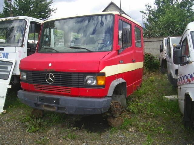 φορτηγό MERCEDES-BENZ 814REX για κινητήριος άξονας MERCEDES-BENZ