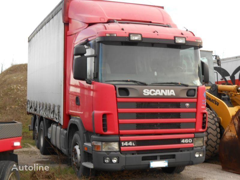 φορτηγό SCANIA 144L 460/530 PS για κουβούκλιο  CR 19