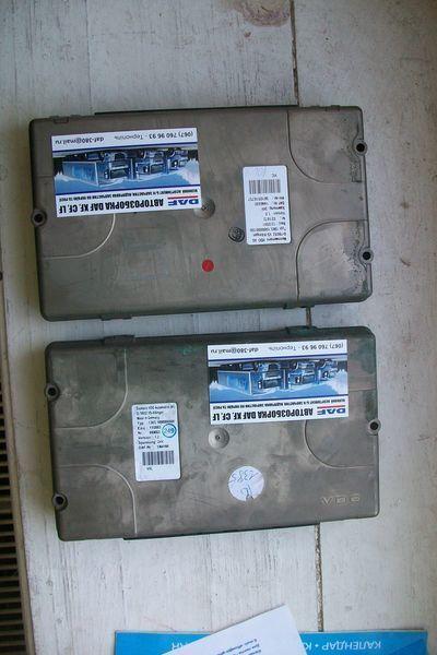 ελκυστήρας DAF για μονάδα ελέγχου  1364166 Siemens