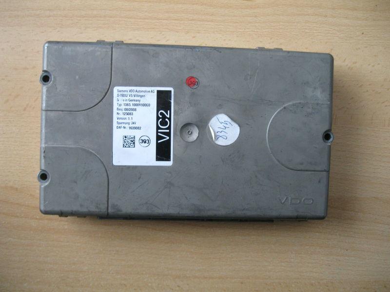 τράκτορας DAF XF 105 / CF 85 για μονάδα ελέγχου DAF STEROWNIK VIC 2