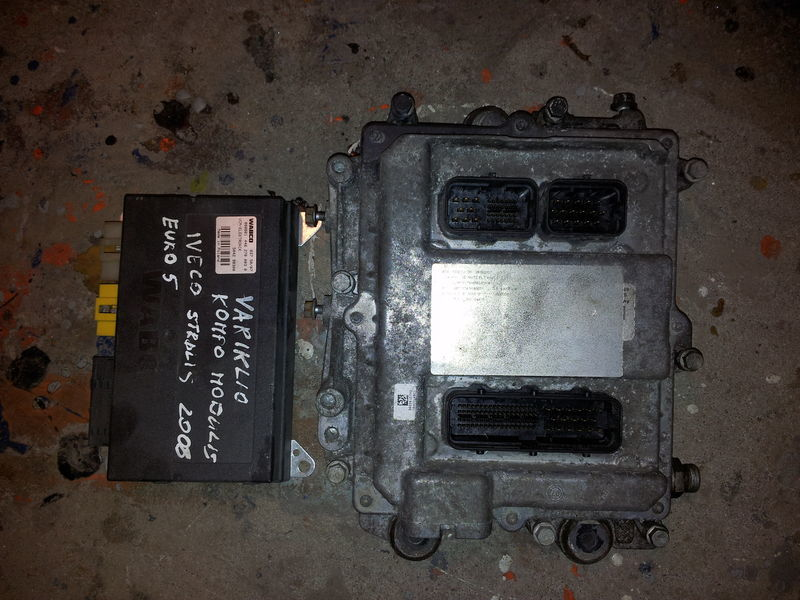 ελκυστήρας IVECO STRALIS για μονάδα ελέγχου  IVECO EURO5 450PS ECU 0281020048 engine computer EDC set (EDC, VCM - ELECTRONIC, chip), ignition set, 4462700020, 504122542