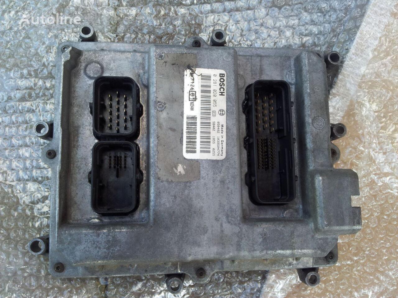 τράκτορας MAN TGA για μονάδα ελέγχου MAN Common Rail EDC, ECU electronic diesel control 0281020055, D2066