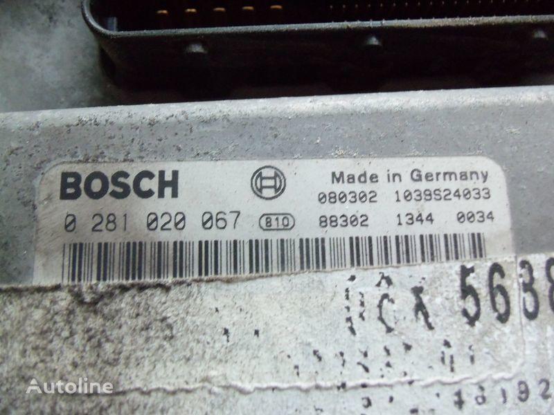 τράκτορας MAN TGX για μονάδα ελέγχου MAN EDC 480PS D2676LF05 ECU BOSH 0281020067 EURO4, 51258037564, 5125