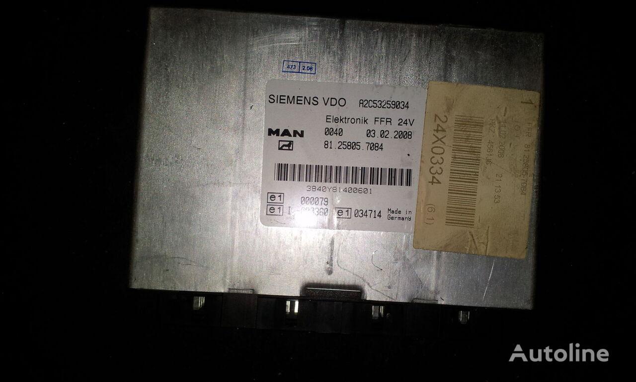 τράκτορας MAN TGX για μονάδα ελέγχου MAN FFR control unit, ECU, 81258057084, Siemens VDO, 81258057084, 81