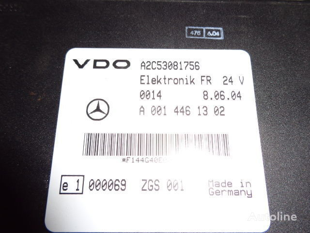 ελκυστήρας MERCEDES-BENZ Actros για μονάδα ελέγχου  Mercedes Benz Actros MP2, MP3, MP4, FR control unit ECU 0014461302, 0004465502, 0004466602, 0014461002, 0014461302, 0014461502, 0014461102, 0014464302, 0024460202, 0024463202, 0024461302, 0024462902, 0024463402, 0034463502, 0024463402, 0034463502, 0024465002