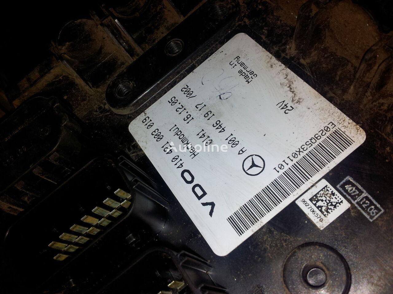 ελκυστήρας MERCEDES-BENZ Actros MP2; MP3 για μονάδα ελέγχου  MB Actros MP2, MP3, Heckmodul, control unit, EDC, ECU, rear module electronics, 0014461917, 0014462817, 0014462017,0014461917,0014462717,0014461617, 41021003020, 410421003019, 0014462817