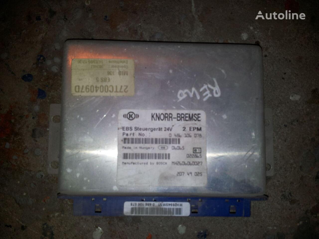 ελκυστήρας RENAULT Magnum DXI για μονάδα ελέγχου  Renault DXI MAGNUM, PREMIUM EBS Control unit 20749025, 20895573, 0486106078, 0486106085, 20895576, 85110026, 85129471, 85110025, 20895573