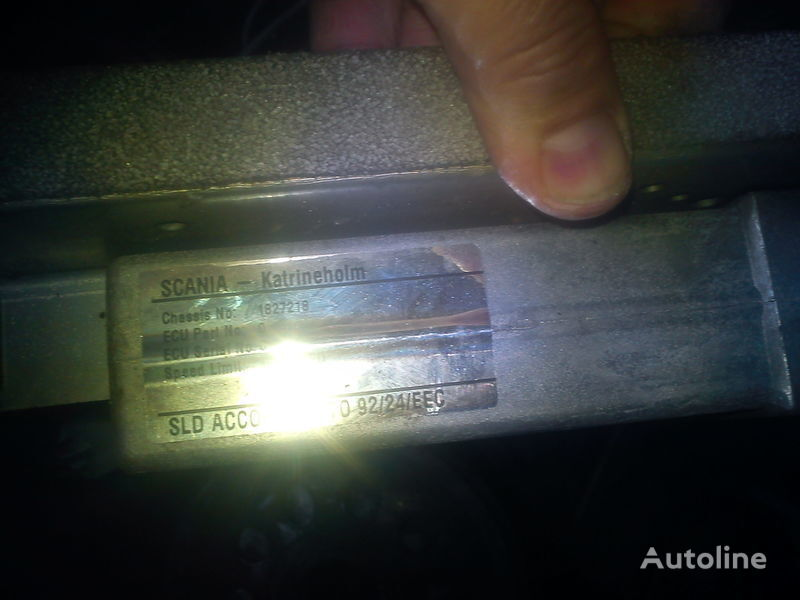φορτηγό SCANIA 903 για μονάδα ελέγχου  dvigatelem Skaniya 1827218  0281001209