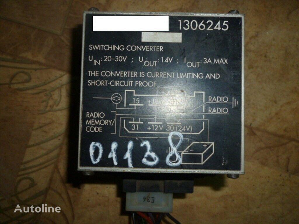 φορτηγό SCANIA για μονάδα ελέγχου SCANIA Preobrazovatel napryazheniya (adapter)