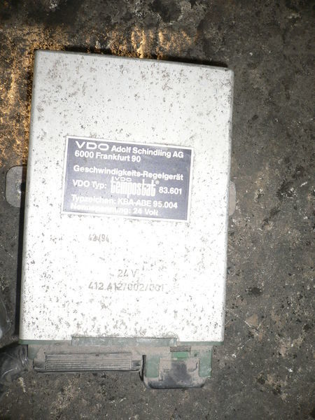 λεωφορείο VOLVO για μονάδα ελέγχου VOLVO VDO 412.412/002/001