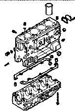 καινούριο μίνι λεωφορείο IVECO 35S15 για μπλοκ κυλίνδρων  IVECO BLOQUE DAILY 8140,43 N
