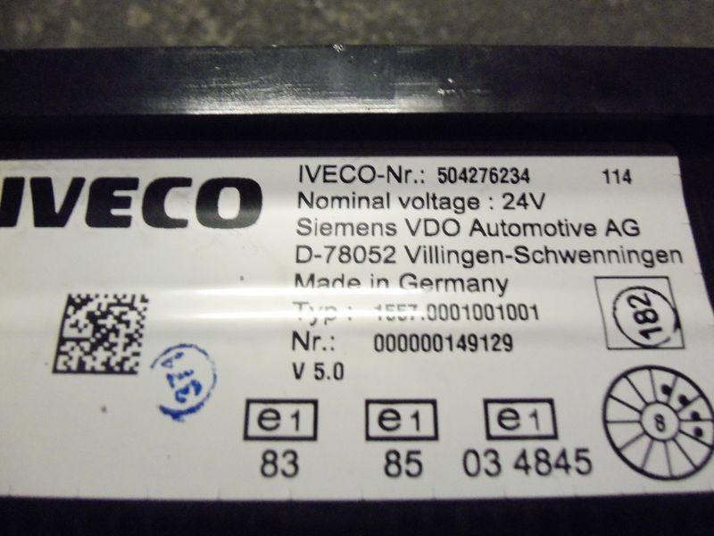 τράκτορας IVECO Stralis για πίνακας οργάνων IVECO EURO5 instrument panel cluster 504276234, 504226363, 504025358,