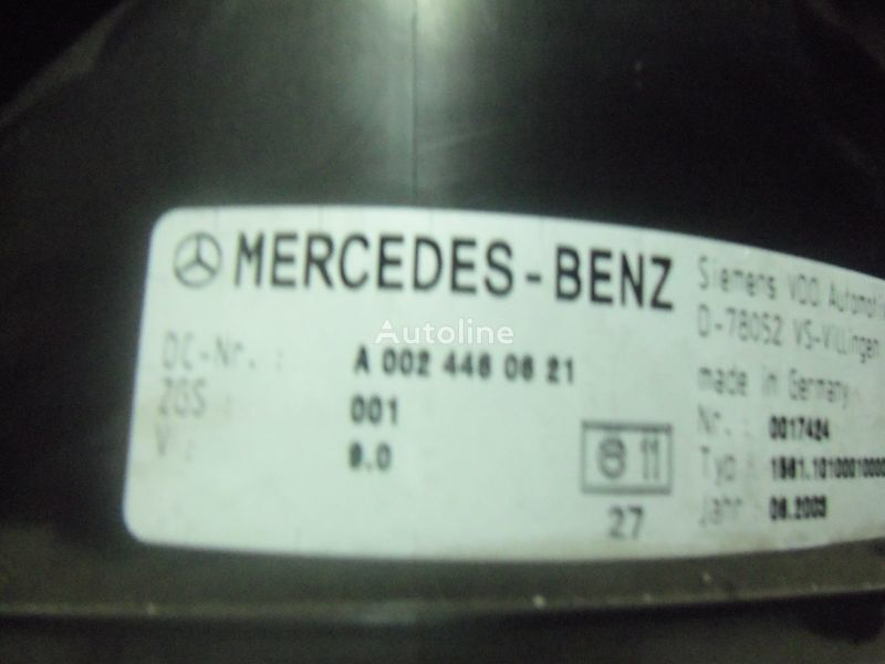 τράκτορας MERCEDES-BENZ Actros για πίνακας οργάνων MERCEDES-BENZ MP2, MP3, MP4, INS electronic instrument panel 0024461321