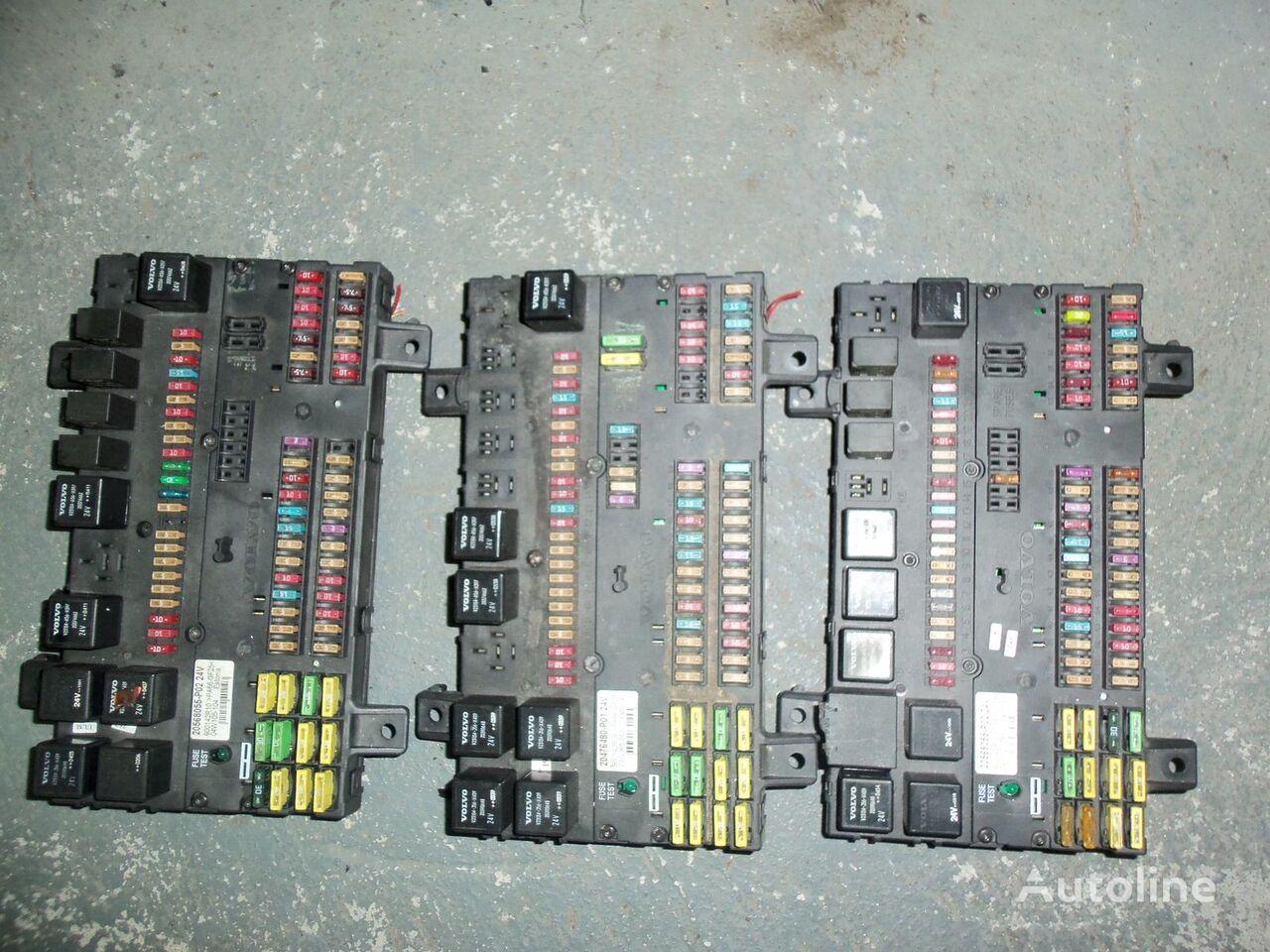 τράκτορας VOLVO FH13 για πίνακας προστασίας VOLVO fuse and relay center, central electrical box 20568055, 217