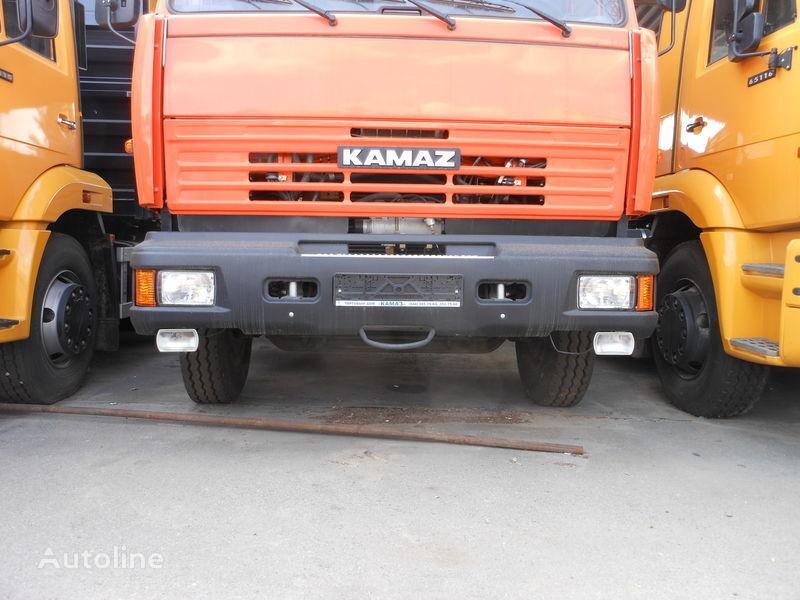 καινούριο φορτηγό KAMAZ 65115 για προφυλακτήρας