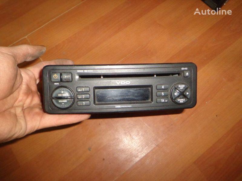 φορτηγό για ραδιόφωνο  VDO CD413. 12V. CD.
