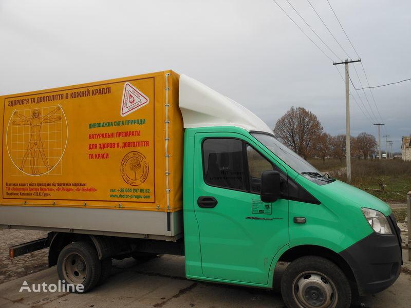 καινούριο φορτηγό GAZ NEXT για σπόιλερ GAZ