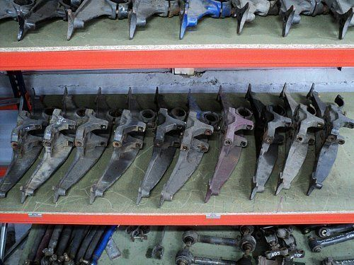 ελκυστήρας DAF XF 95 / XF 105 για συνδετήρας  DAF MOCOWANIE PODUSZEK ZAWIESZENIA
