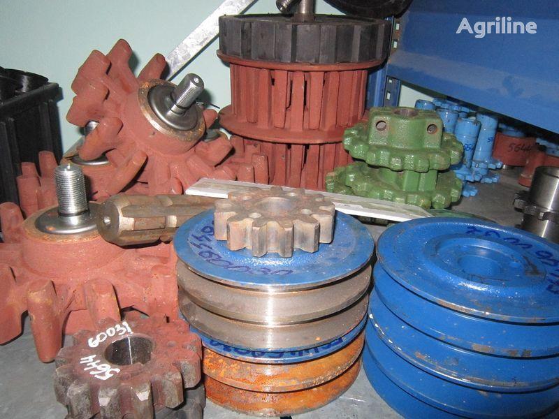 καινούρια θεριζοαλωνιστική μηχανή AGROMET Anna, Bolko για τροχαλία  Polsha zapchasti k kombaynam