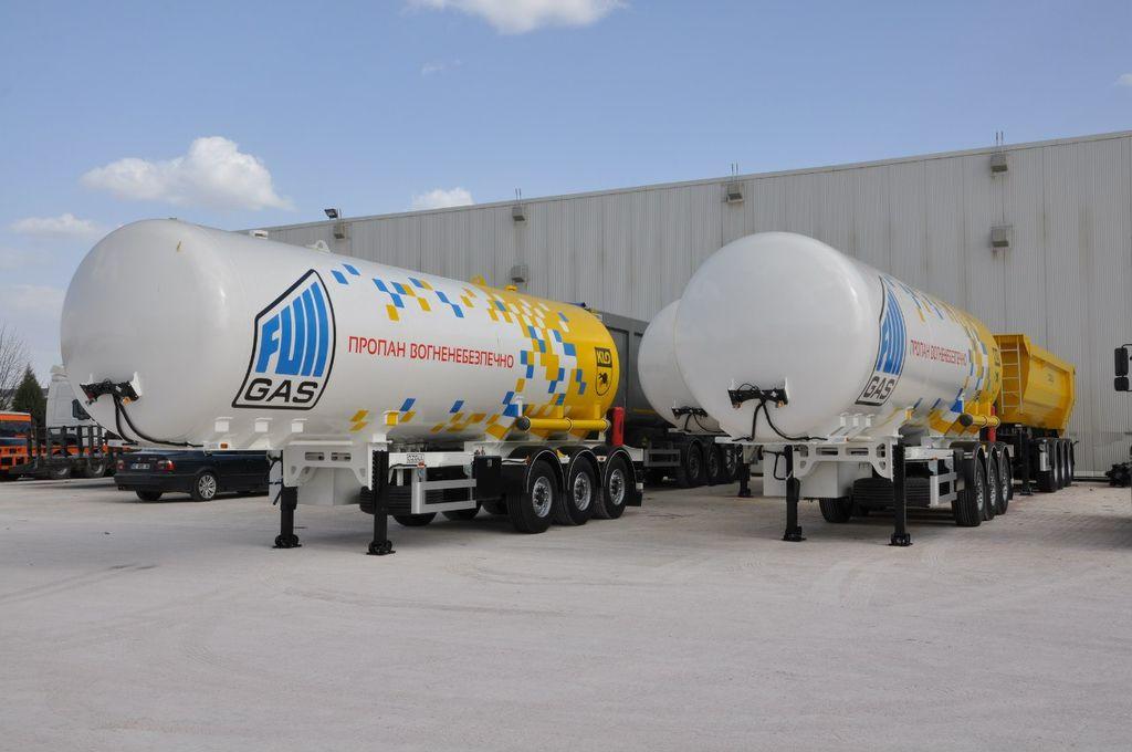 καινούρια δεξαμενή αερίου OZGUL GAS TANKER SEMI TRAILER