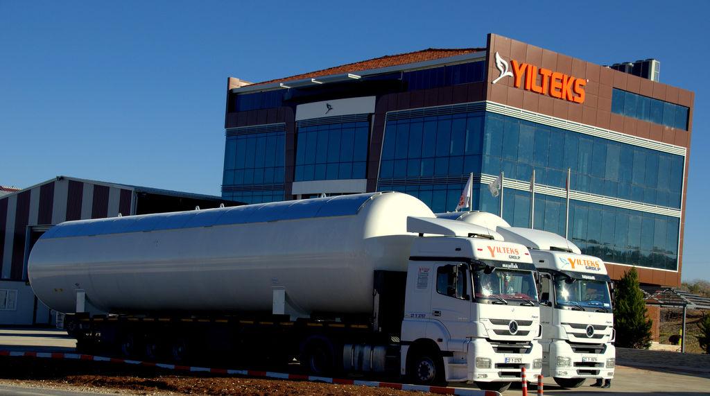 καινούρια δεξαμενή αερίου YILTEKS LPG Storage Tank