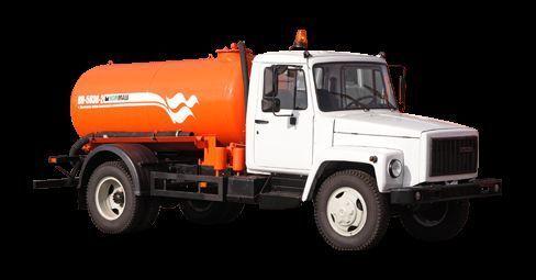όχημα εκκένωσης βόθρων GAZ Vakuumnaya mashina KO-503V-2