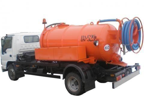 όχημα εκκένωσης βόθρων ISUZU KO-529-10