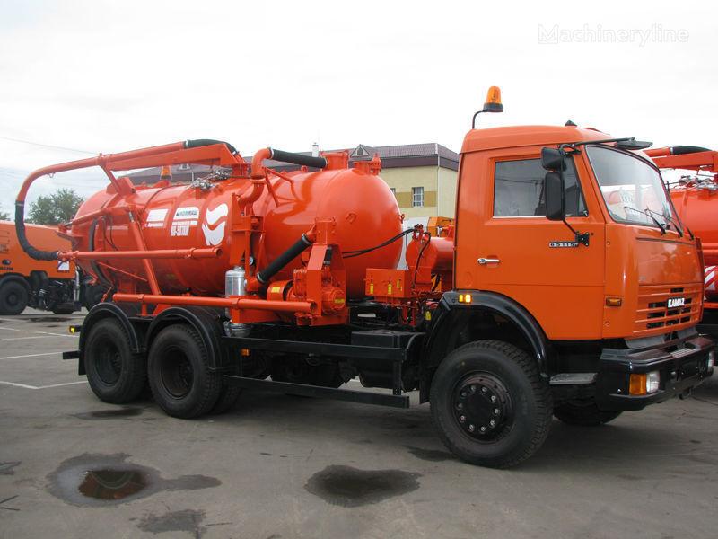 όχημα εκκένωσης βόθρων KAMAZ Ilososnaya mashina KO-507A-3