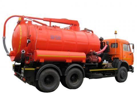 όχημα εκκένωσης βόθρων KAMAZ KO-530-01