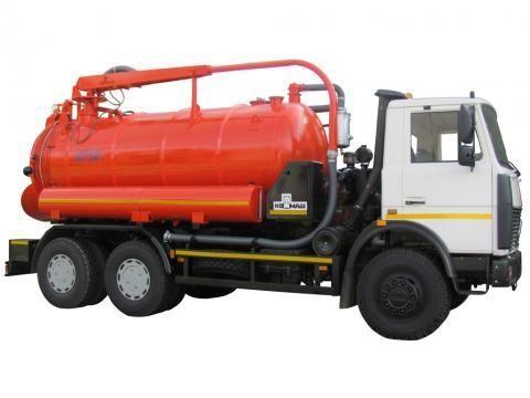 όχημα εκκένωσης βόθρων MAZ KO-530-05