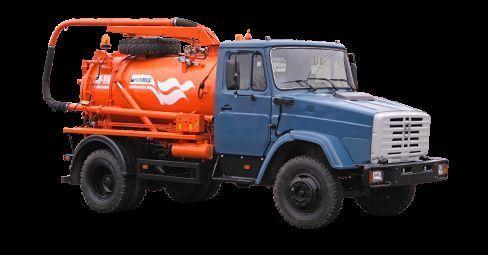 όχημα εκκένωσης βόθρων ZIL Ilososnaya mashina KO-510D