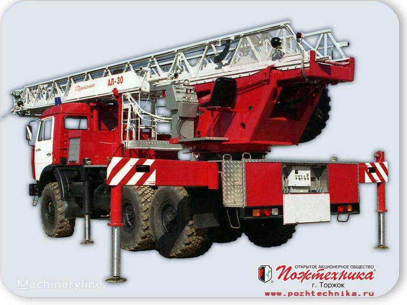 πυροσβεστικό κλιμακοφόρο KAMAZ AL-30