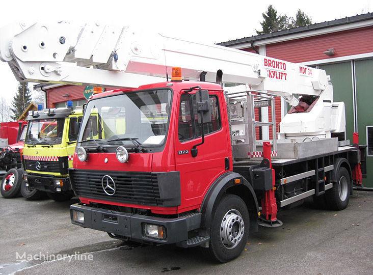 πυροσβεστικό κλιμακοφόρο MERCEDES-BENZ 1722 4X2WD
