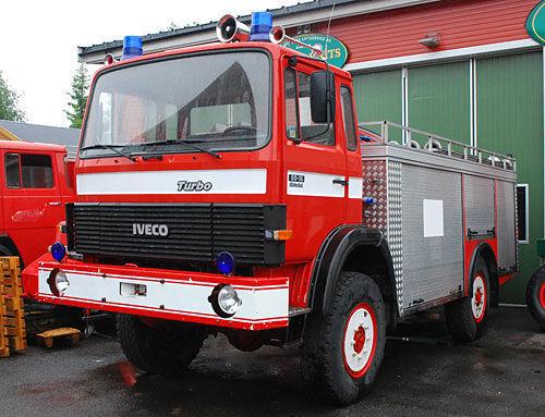 πυροσβεστικό όχημα IVECO 4x4 WD
