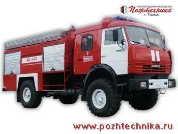 πυροσβεστικό όχημα KAMAZ AC-3-40