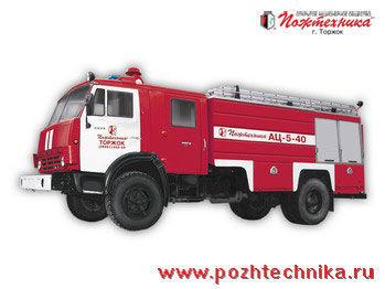 πυροσβεστικό όχημα KAMAZ AC-5-40