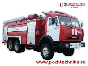 πυροσβεστικό όχημα KAMAZ APT-9-40 Avtomobil pennogo tusheniya pozharnyy