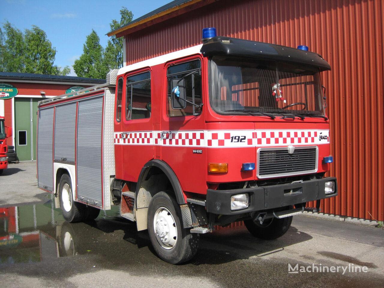 πυροσβεστικό όχημα MAN 14-192, 4x4 WD