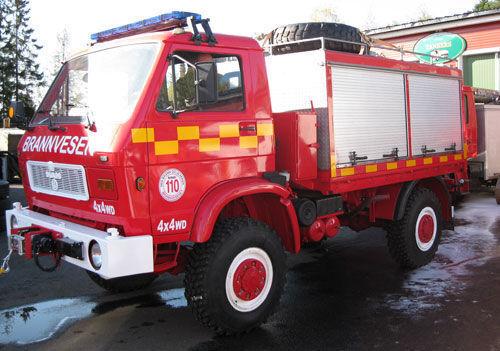 πυροσβεστικό όχημα MAN 8.150, 4x4 WD