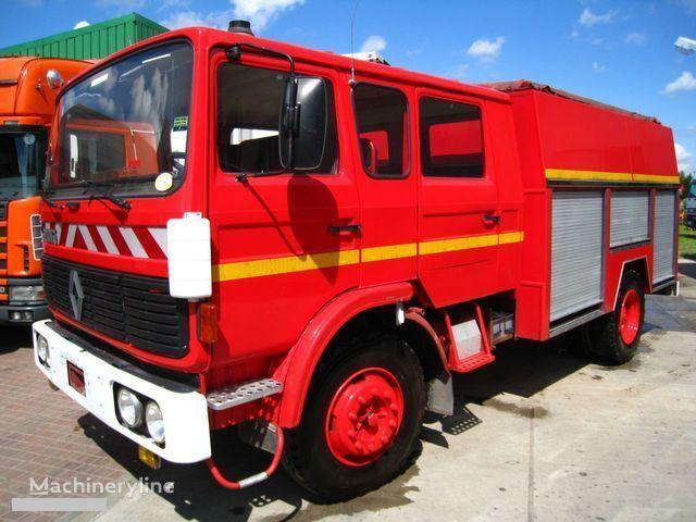 πυροσβεστικό όχημα RENAULT G-191 11 PLACE WATER PUMP