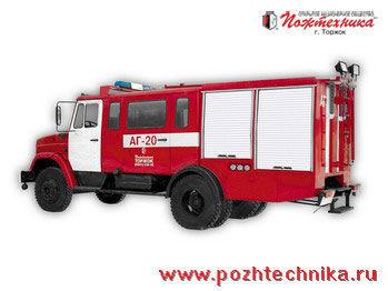 πυροσβεστικό όχημα ZIL  AG-20 Avtomobil gazodymozashchitnoy sluzhby