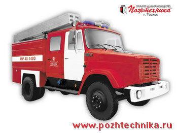 πυροσβεστικό όχημα ZIL ANR-40-1400 Avtomobil nasosno-rukavnyy