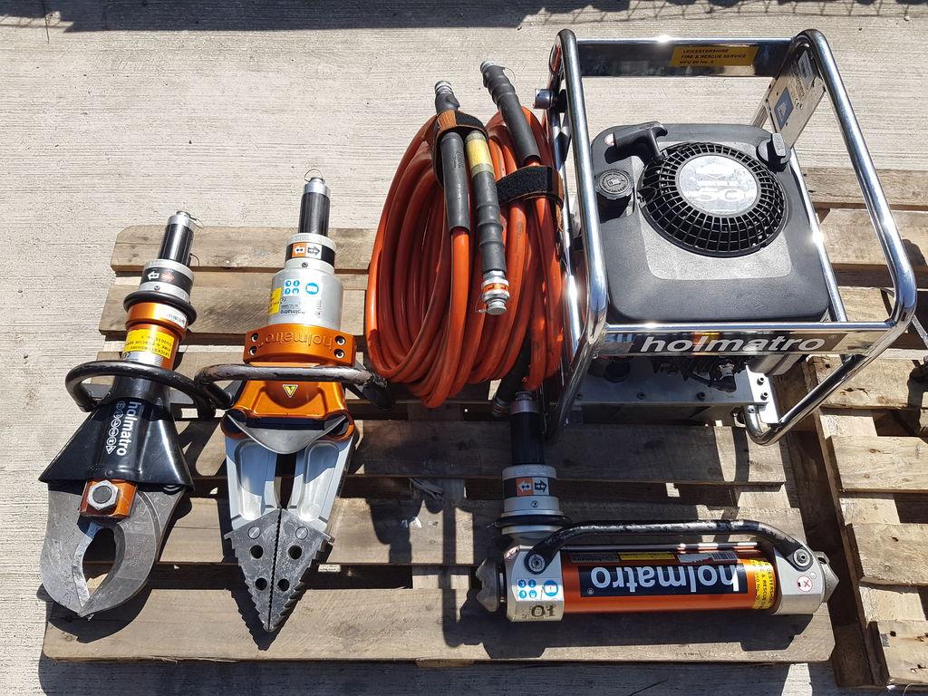 πυροσβεστικός εξοπλισμός ANGLOCO- HOLMATRO CUTTING SINGLE CORE