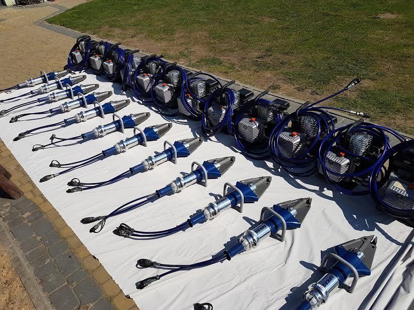 πυροσβεστικός εξοπλισμός LUKAS hydraulik Jaws of life combi cutter sc357 GO3T