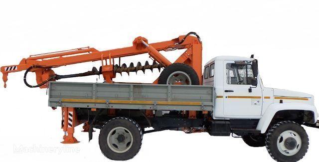 άλλο ειδικό όχημα BKM ZU Burilno-kranovaya mashina BKM-3U na avtomobilyah GAZ 33081 («Sa